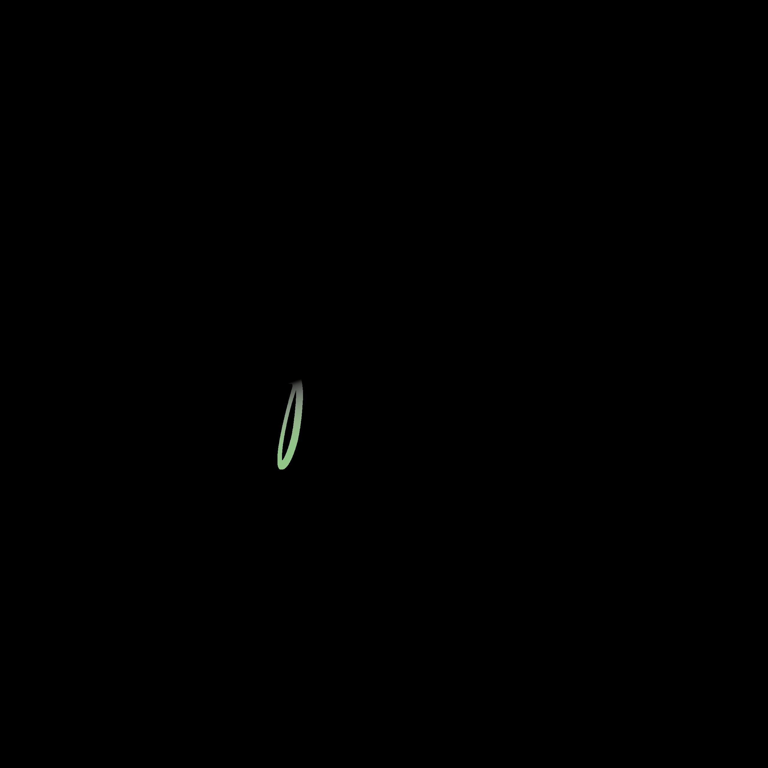 seven fireflies - green design